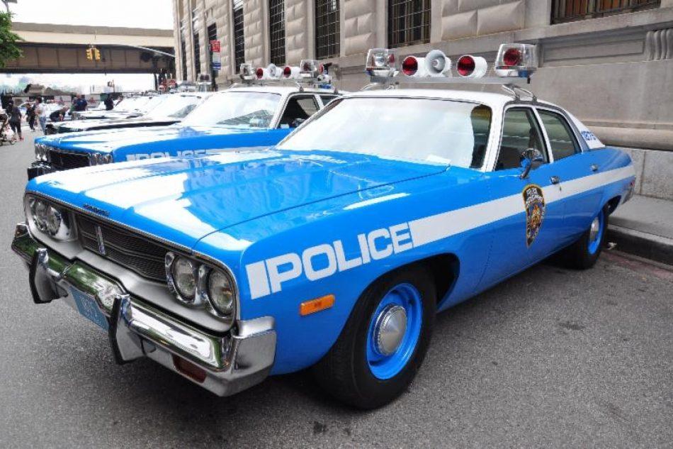 Vintage Police Car Show Governors Island - Police car